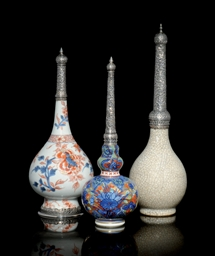 THREE KANGXI EXPORT WARE SPRIN