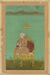 AKBAR SEATED HOLDING PRAYER BE