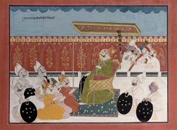 A PORTRAIT OF RAJA VIJAY SINGH