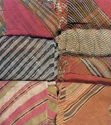 SEVEN TURBAN CLOTHS