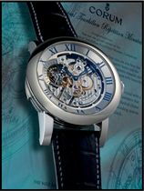 CORUM, CLASSICAL TOURBILLON RÉPÉTITION MINUTES CATHÉDRALE  WHITE GOLD MANUALLY-WOUND SKELETONISED MINUTE REPEATING TOURBILLON WRISTWATCH WITH CATHEDRAL GONGS