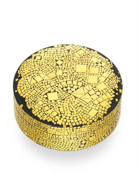 a gold and steel placidia box by daniel brush jewelry On daniel brush jewelry