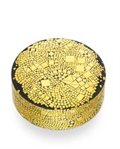 """A GOLD AND STEEL """"PLACIDIA"""" BOX, BY DANIEL BRUSH"""