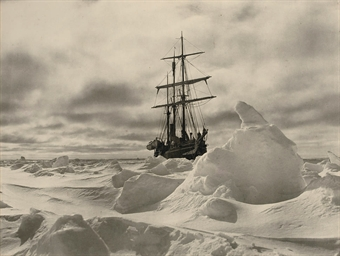 The Endurance in the ice