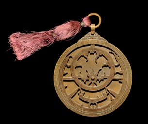 AN INDIAN ASTROLABE INSCRIBED