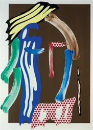 Brushstroke Head (Untitled)