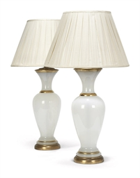 A PAIR OF FRENCH PARCEL-GILT O