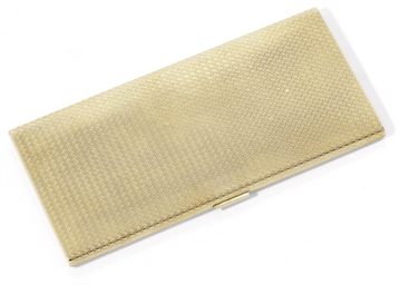 A SPANISH GOLD CIGARETTE-CASE
