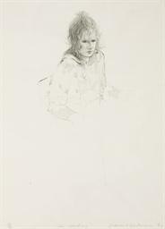 Celia Smoking (Scottish Arts C