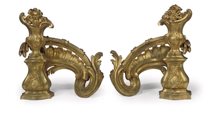 A PAIR OF FRENCH STYLE ORMOLU