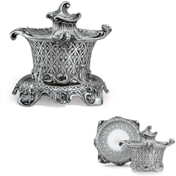 A FINE EARLY VICTORIAN SILVER