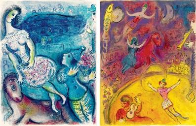 Marc Chagall, Cirque, Tériade