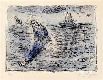 Jonas sur Fond bleu (M. 661)