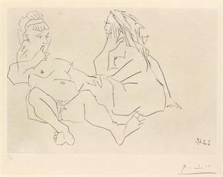Deux Femmes (B. 1202; Ba. 1186