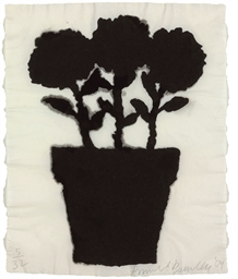 Untitled (Linen Flower #1, #2,