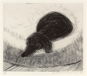Dog Etching No. 8, from Dog Wa