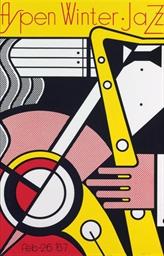 Aspen Winter Jazz Poster (C. 4