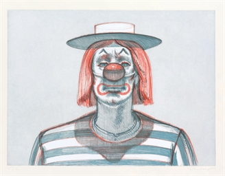 Clown, from Recent Etchings I