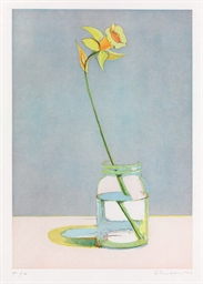 Daffodil, from Recent Etchings
