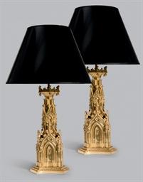 PAIRE DE PIEDS DE LAMPE NEOGOT