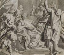 Lucrèce réclamant vengeance contre Tarquin devant son père et son mari