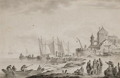 Bateaux amarrés au port, des p