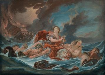Arion sauvé par le dauphin, d'