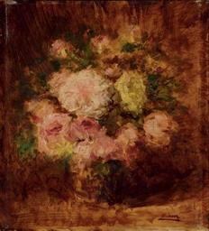 Vase avec des fleurs