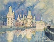 Vue du château de Maintenon