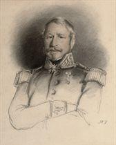 Portrait du Général Jean Rabusson, Baron d'Empire