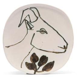 Tête de chèvre de profil (vari