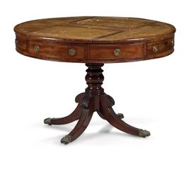 TABLE DE BIBLIOTHEQUE D'EPOQUE