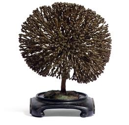 Bush-Form sculpture