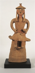 A Haniwa Terracotta Figure of