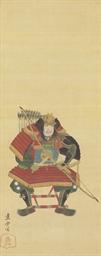 Portrait of Minamoto no Yoshii
