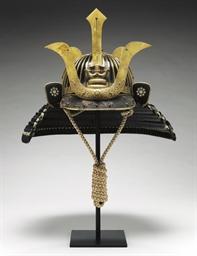 A Suji-bachi Kabuto (Helmet)