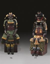A Moegi-Odoshi Yokohagi Nimai