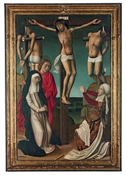 The Crucifixion with the Holy