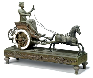 An Empire bronze striking char