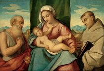 The Madonna and Child with Saints Jerome and Francis of Assisi