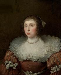 Portarit of a lady, bust-lengt