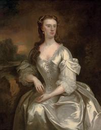 Portrait of Lady Georgina Spen