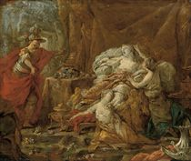 The Death of Cleopatra; a sketch