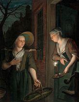 The asparagus seller