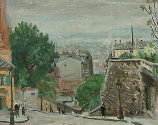 Rue du Mont Cenis, Montmartre,