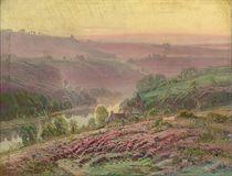 La Creuze at dusk