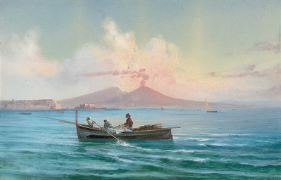 Fishing on the Bay of Naples