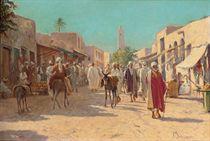 A busy market, Cairo