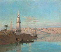 The Nile at Girgeh, dusk