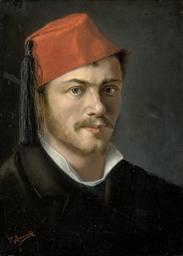 Portrait of a bearded gentlema